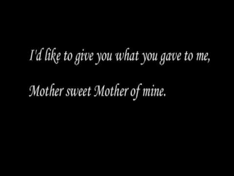 mother of mine with lyrics by Mother(suzie) & Son (john park): joshua joined beginning