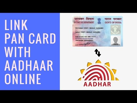How To Link Pan Card With Aadhar Number Tutorial