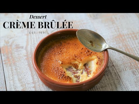 Crème Brûlée: The Essential Guide (Top French pastry chef recipe)