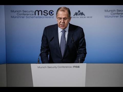 С.Лавров на Мюнхенской конференции по безопасности   Sergey Lavrov's at Munich Security Conference