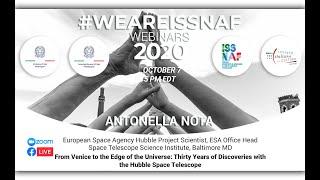 #weareISSNAF2020 Webinar Series - Antonella Nota