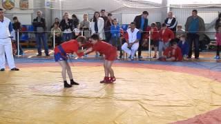 Рагулин Никита, соревнования по самбо в Бузулуке 04.05.2014 г. 3 я схватка
