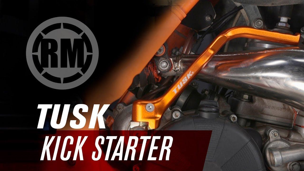 Fits KTM 250 SX-F 2009 2010 Tusk Kick Starter Anodized Orange