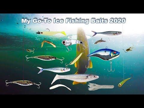 Best Big Game Ice Fishing Baits