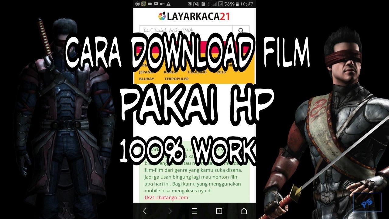 Cara download film lewat hp android dengan mudah dan cepat. Tipss.
