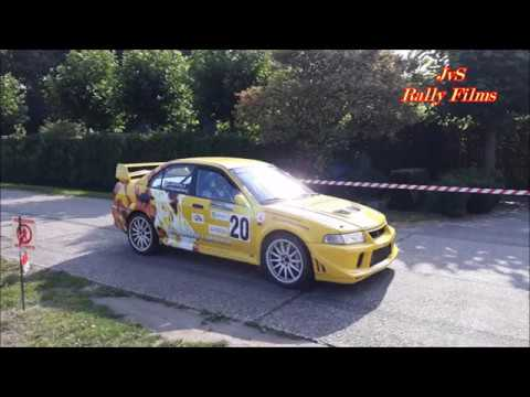 Rally van Kasterlee (BE) 2017, Rally Team Leemans, Roald Leemans jr & Chris van Waardenburg Evo VI