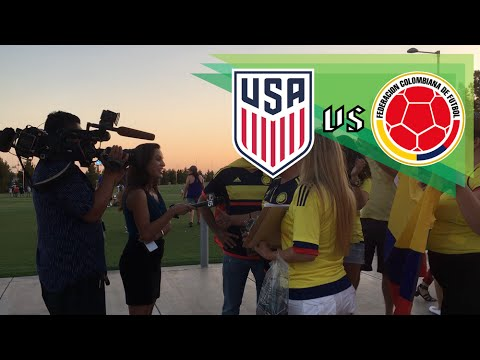 United States vs Colombia 0-1 | TV Reporter and Fans of Colombia National Team