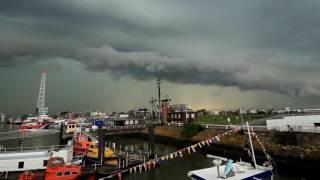 Unwetter in Cuxhaven (Cuxhavener Nachrichten/Niederelbe-Zeitung)