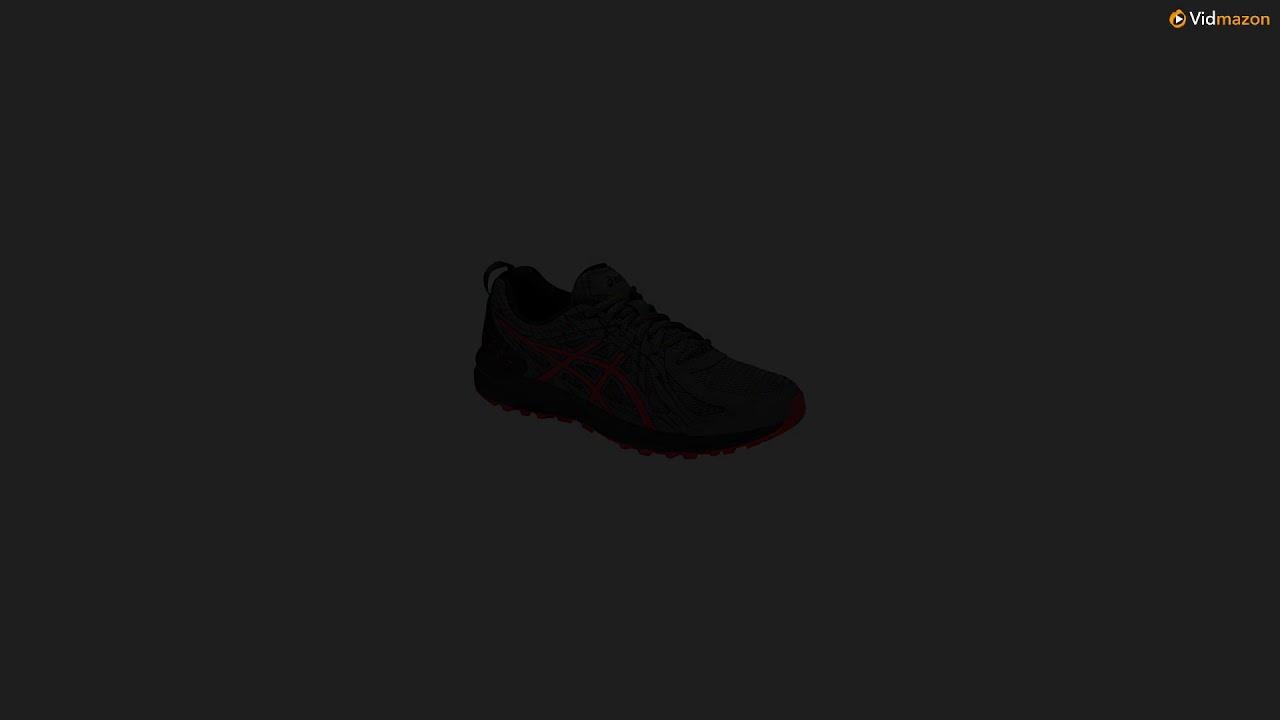 5df9efc4441 ASICS 1011A034 Men's Frequent Trail Running Shoe, Carbon/Red Alert - 11  D(M) US