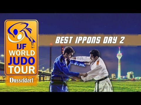 Best ippons in day 2 of Judo Grand Slam Dusseldorf 2018