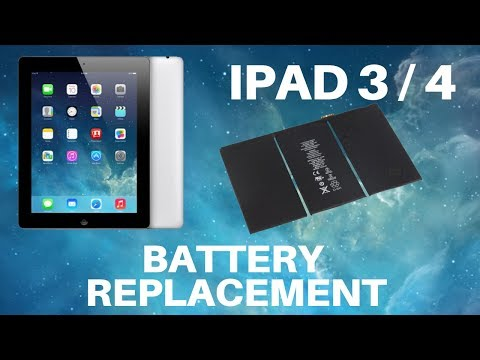 IPad 3 And 4 - Battery Replacement