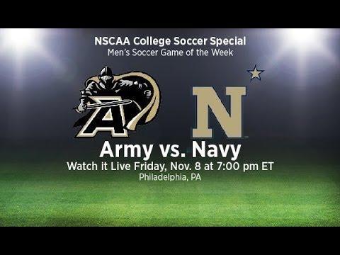 Army vs Navy (Men's Soccer) at PPL Park- Friday, Nov 8 at 7pm EST