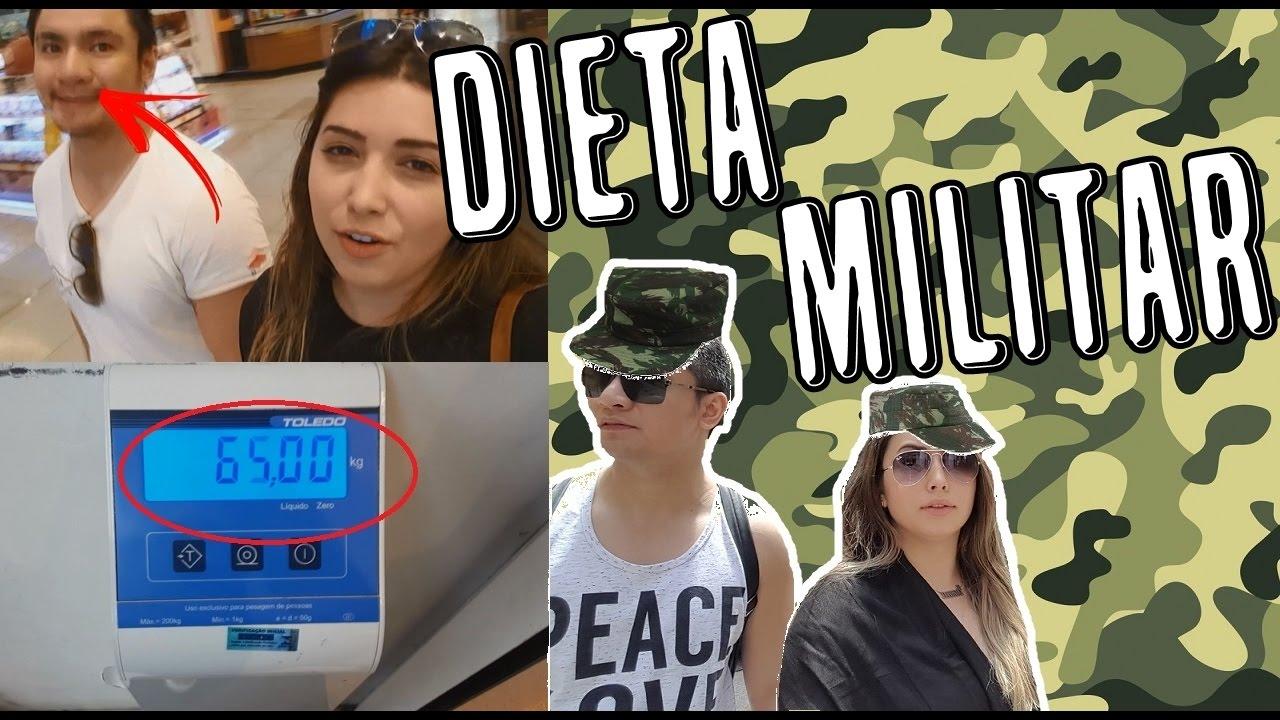 Dieta militar de 3 dias para perder peso