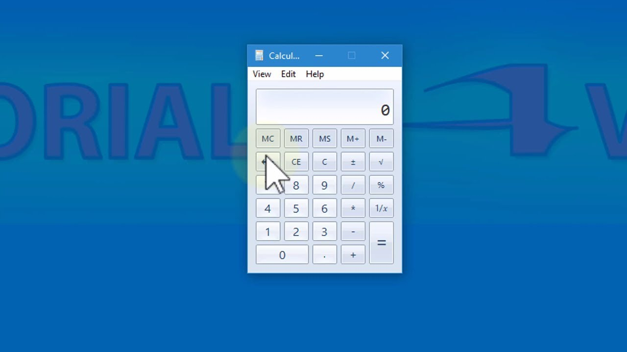 How to bring back old Windows 7 Calculator to Windows 10 - Tutorial