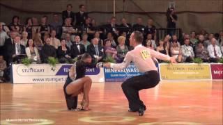 GOC 2012 - GrandSlam Latin - solo Rumba - Andrey Zaytsev & Anna Kuzminskaya