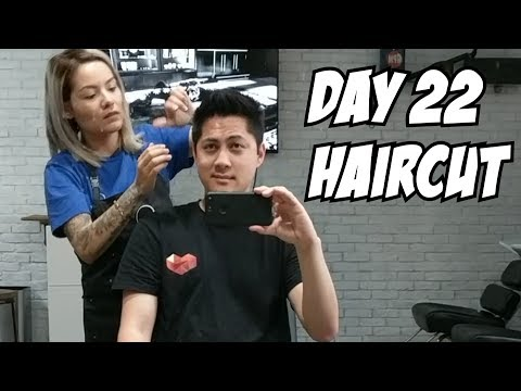 Thumbnail: Men's haircut and hair style 2017 - Day 22