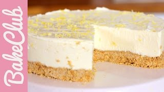No Bake Lemon Cheesecake | Bakemyday