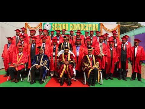 Second Convocation, Bihar Agricultural University, Sabour