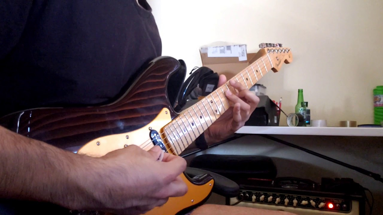 Star Spangled Banner Guitar Solo Cover Youtube