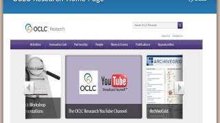 Making the most of OCLC