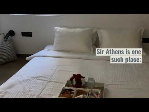 A stay in Sir Athens Boutique Suites