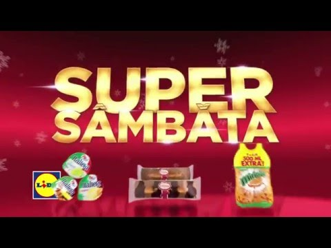 Super Sambata la Lidl • 12 Decembrie 2015