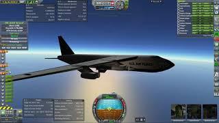 Kerbal Space Program RO Sandbox - X-15 and B-52