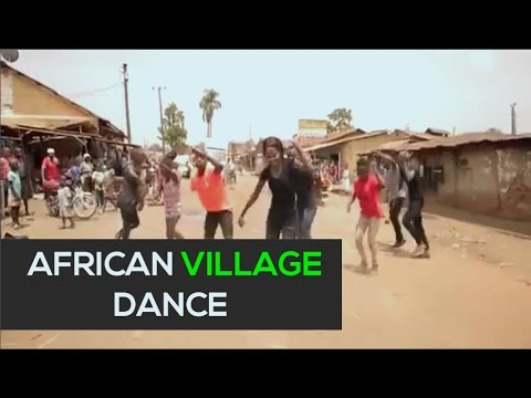 Dance - Awesome African Street Dance - [Dance]