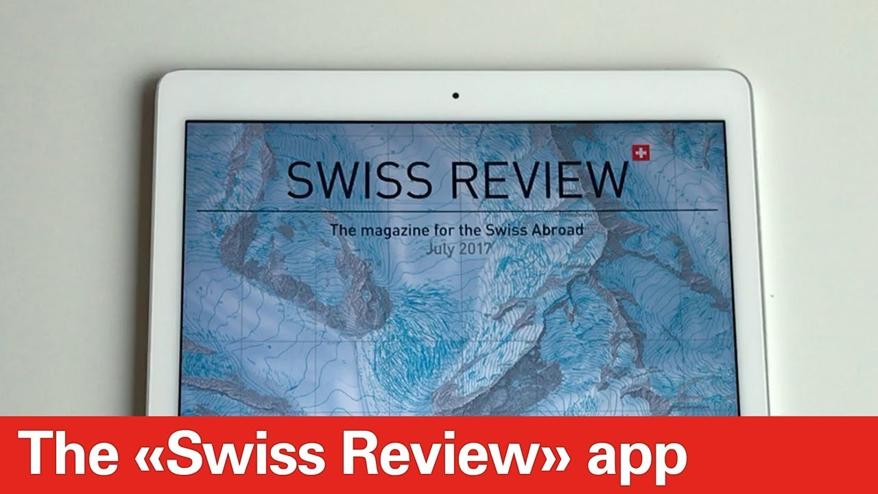 new arrival fe685 c6b8e The «Swiss Review» app for your smartphone or tablet