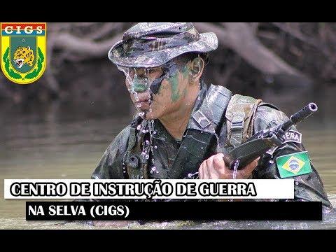 Documentário Militar – Centro de Instrução de Guerra na Selva (CIGS)
