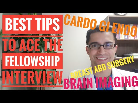 Best TIPS of The Fellowship Interview preparation