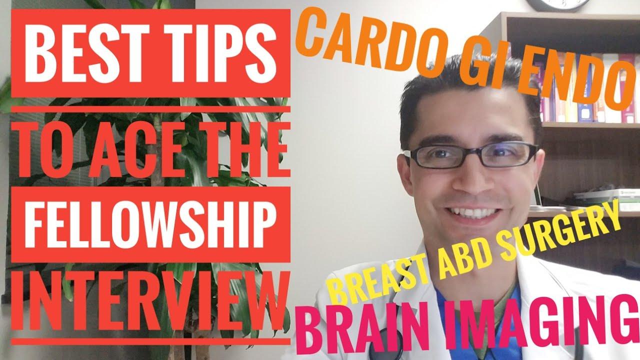 Best TIPS of The Fellowship Interview preparation & Fellowship Match!  Cardiology, Vascular etc