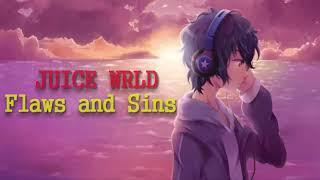 JUICE WRLD - Flaws and Sins [NIGHTCORE]