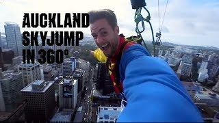 Auckland, New Zealand in 360: SkyJump