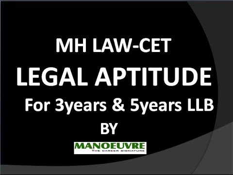 MH LAW -CET legal aptitude workshop 1 by GLC Faculty (Manoeuvre )