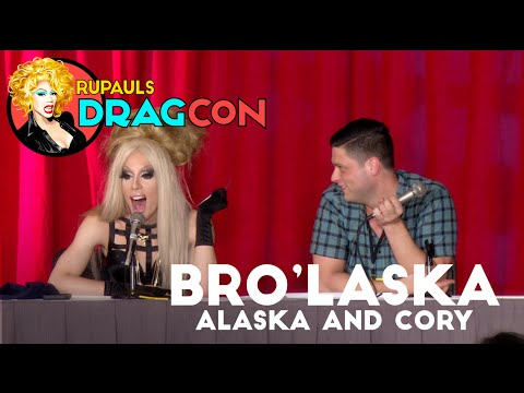 Bro'Laska with Alaska 5000 and Cory Binney at RuPaul's DragCon 2016