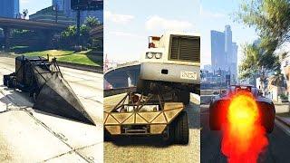 Grand Theft Auto 5 Multiplayer - Ramp Car, Jet Car, and Crazy Semi!