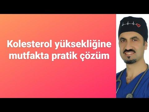 KOLESTEROL YÜKSEKLİĞİNE MUTFAKTA ÇÖZÜM ÖNERİLERİ - PROF DR AHMET KARABULUT