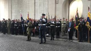 The Australian and New Zealand Catafalque parties - Anzac Day, Menin Gate / Menenpoort Ieper