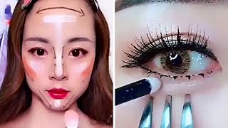 SHOCK! Viral Asian Life Hacks For Makeup. Weird Asian Trends. Korean Life Hacks.