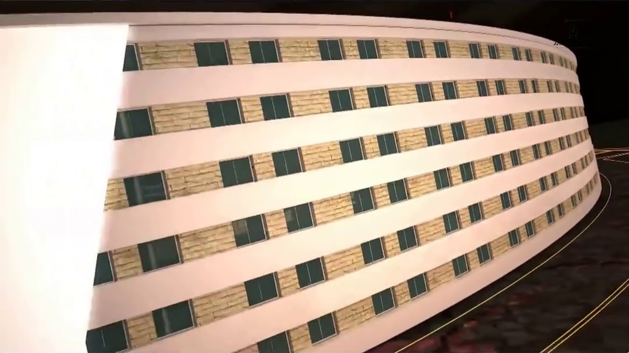 Đồ án tốt nghiệp kiến trúc – đẹp như phim hollywood của sinh viên trường Kiến trúc
