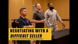 How to Negotiate with a Difficult Seller | Wholesaling Real Estate