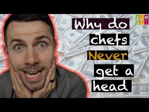 why do chefs never get a head