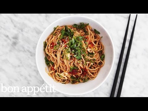 Cold Sesame Soba Is Your New Go-To Work Lunch | Bon Appetit