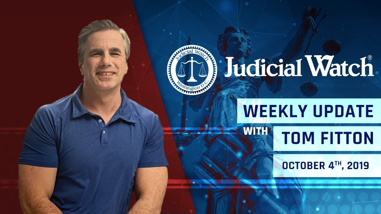 Judicial Watch - Stop the Coup Against Trump, Rosenstein's SECRET Communications w/ Mueller,  &