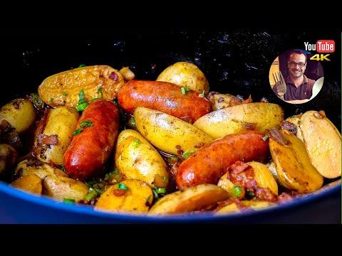 pommes-de-terre-au-chorizo-|-recette-facile-et-rapide