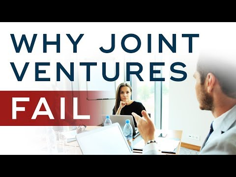 Why So Many Joint Ventures Fail and The #1 Secret You Must Know - Joint Venture Marketing Ep. 4