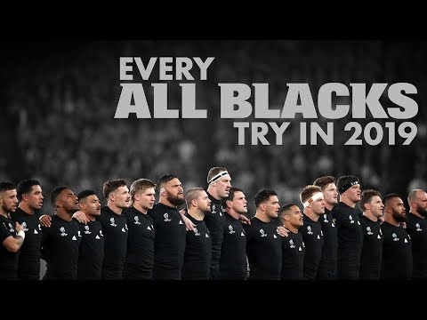 Every All Blacks Try In 2019