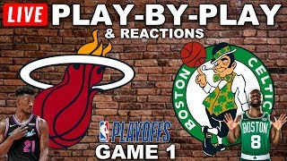 Heat vs Celtics Game 1 Live Play-By-Play & Reactions
