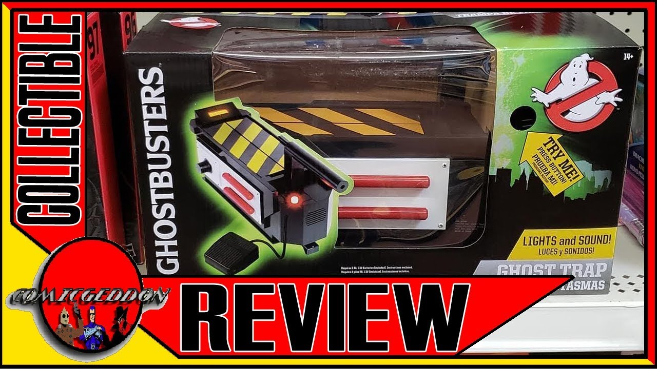 GHOST BUSTERS GHOST TRAP WITH LIGHTS /& SOUNDS